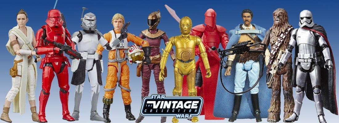 Фигурки игрушки Star Wars Vintage Collection