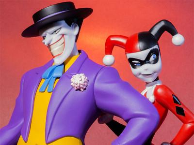 Обзор фигурок Джокер и Харли Квин от компании Kotobukiya