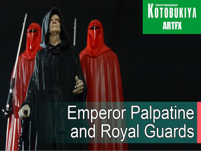 Kotobukiya Artfx+ фигурки Император с гвардейцами