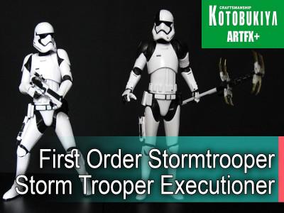 Star Wars Kotobukiya Artfx+ Штурмовики Первого Ордена