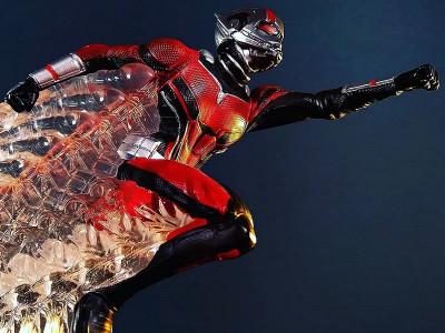 Обзор на статуэтки Человека-муравья и Осы