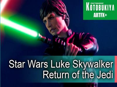 Звездные войны Kotobukiya Artfx+ обзор фигурка Люк Скайвокер