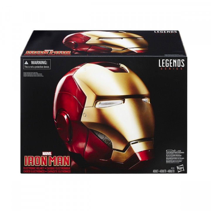 Marvel Legends Iron Man 1:1 Scale Wearable Electronic Helmet