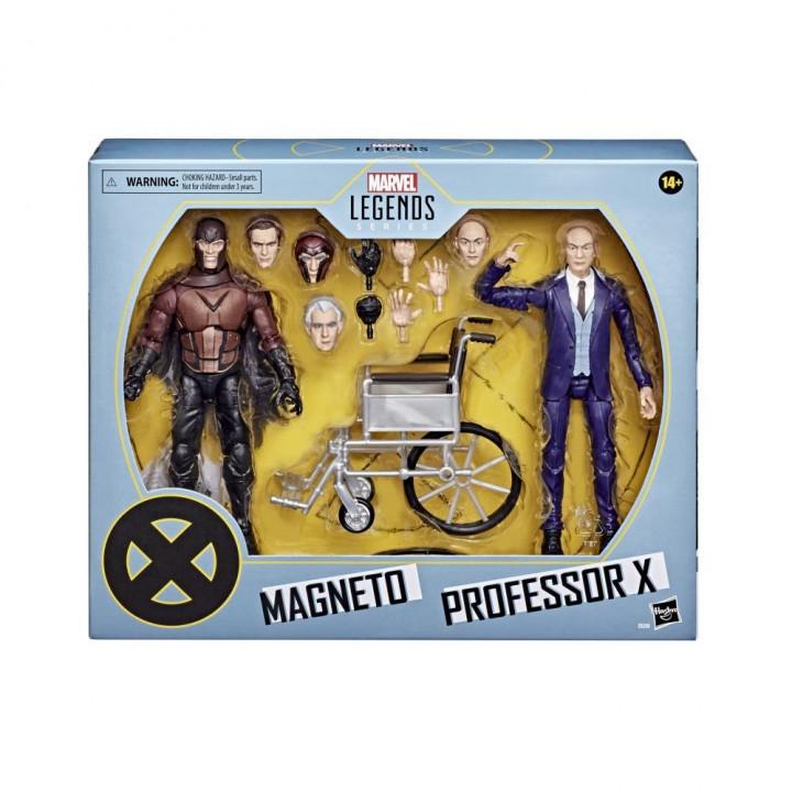 Фигурки Marvel Legends Magneto and Professor X