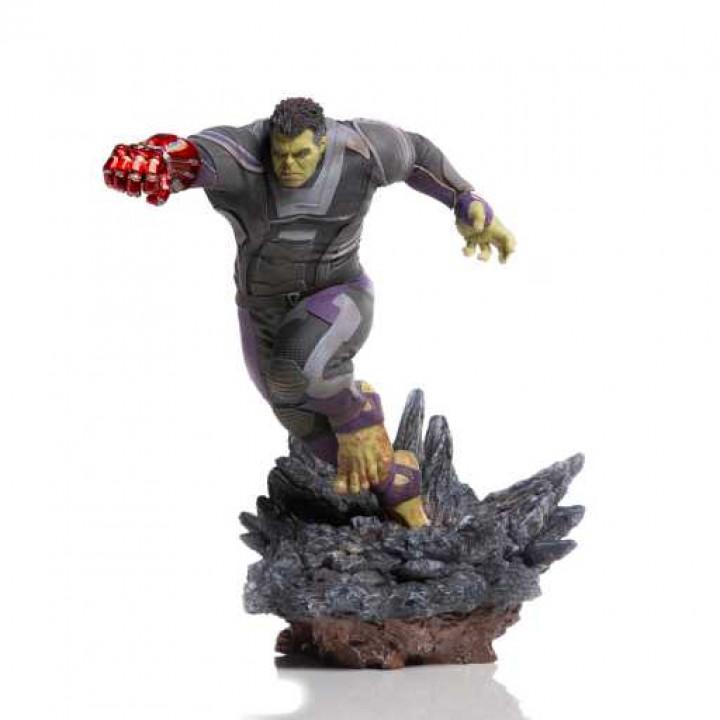 Статуэтка Халк Deluxe (Мстители: Финал) \ Hulk Deluxe (Avengers: Endgame)