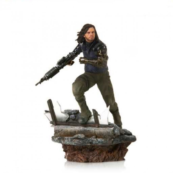 Avengers: Endgame Battle Diorama Series Winter Soldie1/10 Art Scale Limited Edition Statue