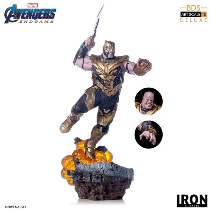 Avengers: Endgame Battle Diorama Series  Thanos (Avengers: Endgame) Deluxe