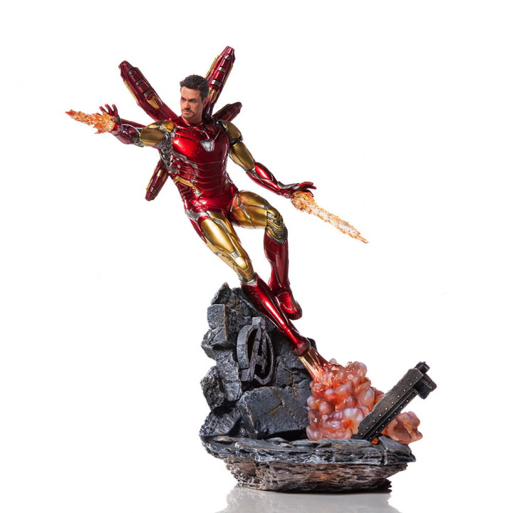 Avengers: Endgame Iron Man Mark LXXXV Art Scale Deluxe
