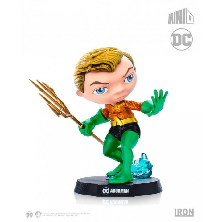 Фигурка Аквамен -  DC Comics Mini Co. Heroes Aquaman