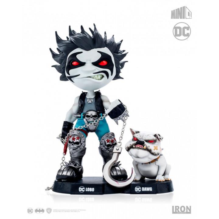 DC Comics Mini Co. Heroes Lobo and Dawg