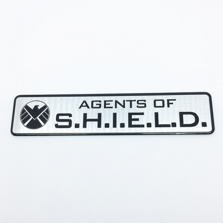 Металлическая наклейка Agents of S.H.I.E.L.D.