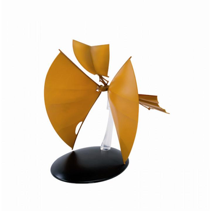 Модель Байджорской солнечной яхты из сериала Звездный путь с журналом на японском языке