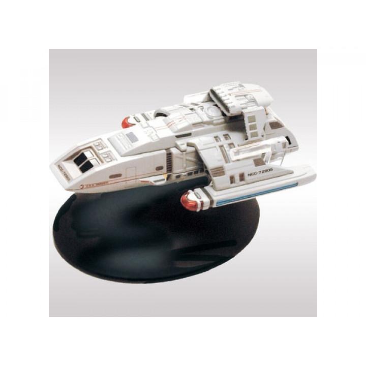 Модель корабля U.S.S. Orinoco NCC-72905  из сериала Star Trek Deep space Nine  с журналом на японском языке