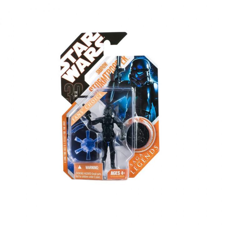 Star Wars 30th Anniversary Saga Legends Shadow Stormrooper