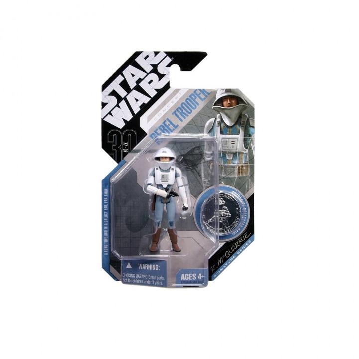 Star Wars 30th Anniversary Saga Legends Rebel Trooper (Concept McQuarrie)
