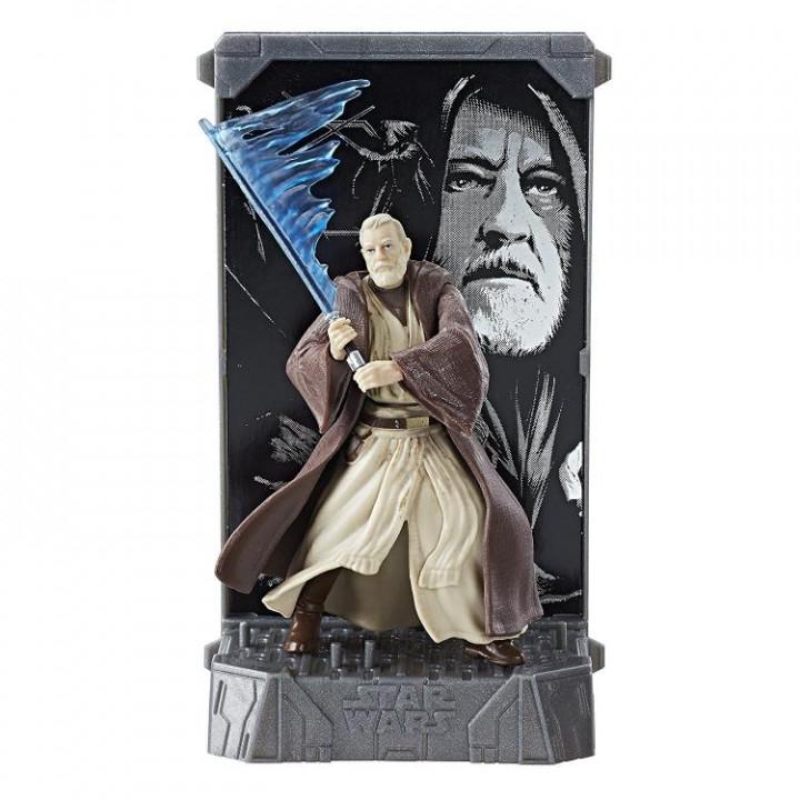 Фигурка Оби-Ван Кеноби Star Wars 40th Anniversary Black Series Die-Cast