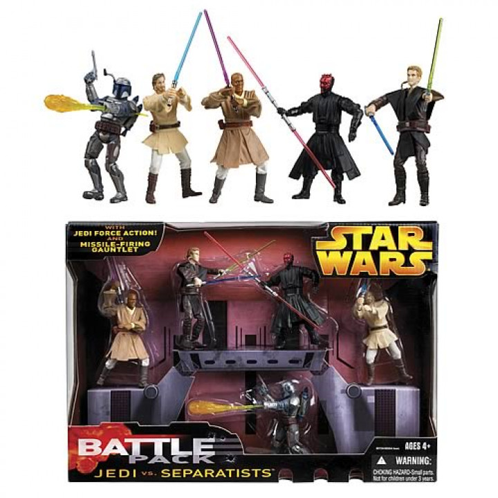 Star Wars Battlepack Jedi vs Separatists