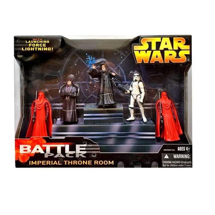 Набор фигурок Star Wars Battlepack  Imperial Throne Room