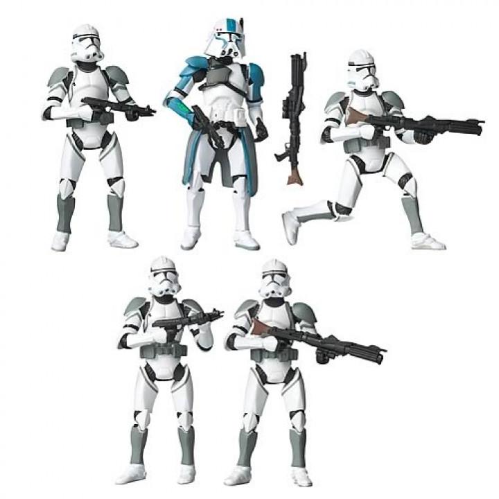 Набор фигурок Star Wars Battlepack Clone Attack on Coruscant