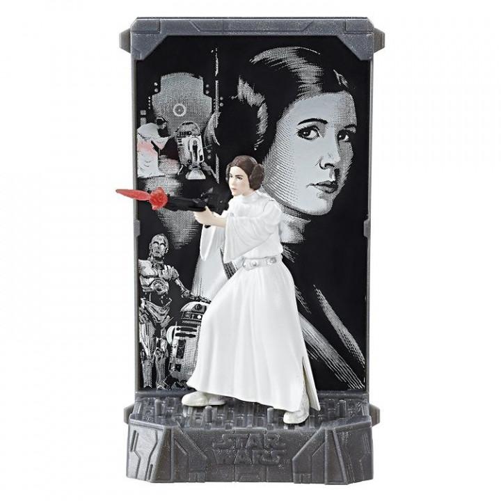 Фигурка Принцессы Леи Органы Star Wars 40th Anniversary Black Series Die-Cast