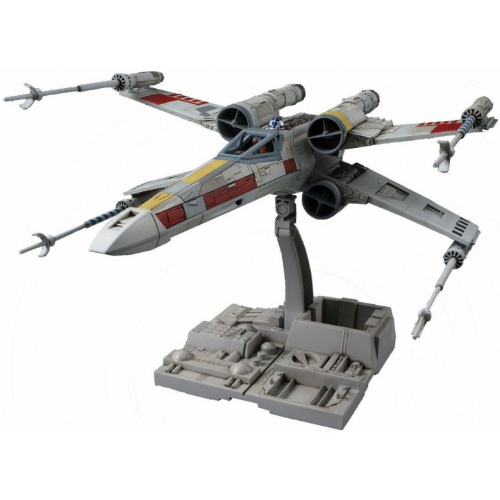Сборная модель истребителя X-Wing Люка Скайвокера