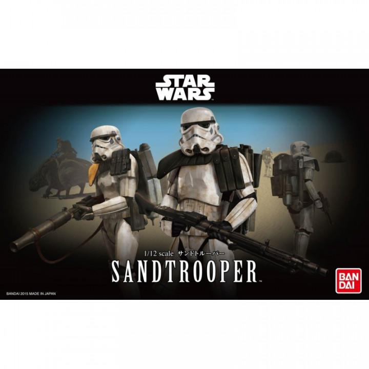 Bandai 1/12 Star Wars Sandtrooper Scale Model
