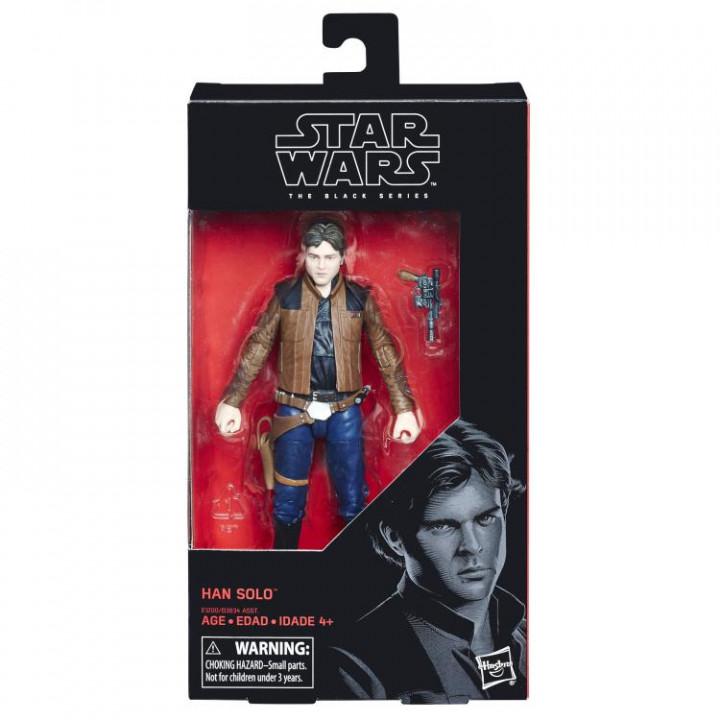 "Star Wars Black Series 6"" Han Solo (Solo: A Star Wars Story)"