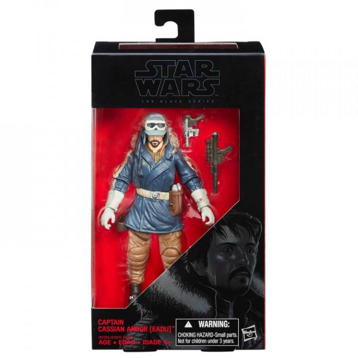 Фигурка капитана Кассиана Андора на планете Эаду  из фильма Star Wars Rogue One