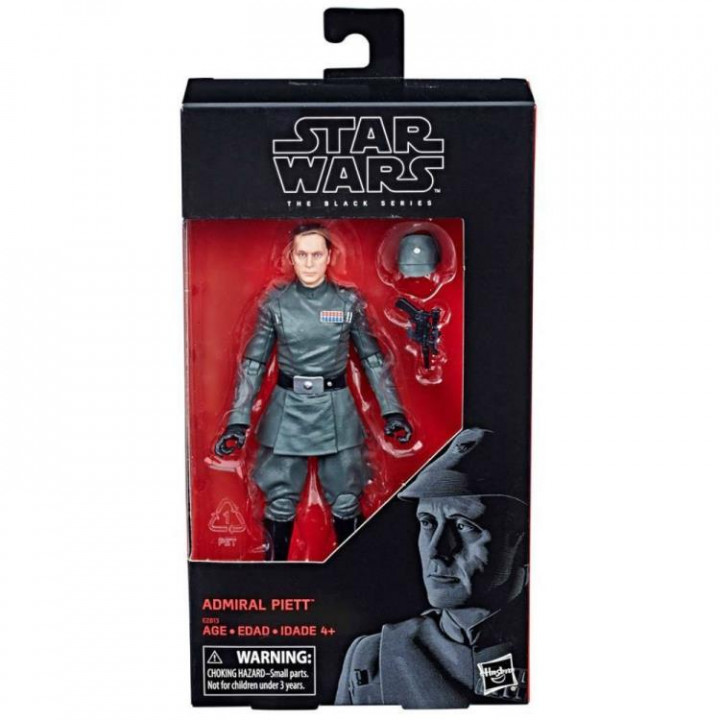 Star Wars Black Series 6 Admiral Piett Exclusive