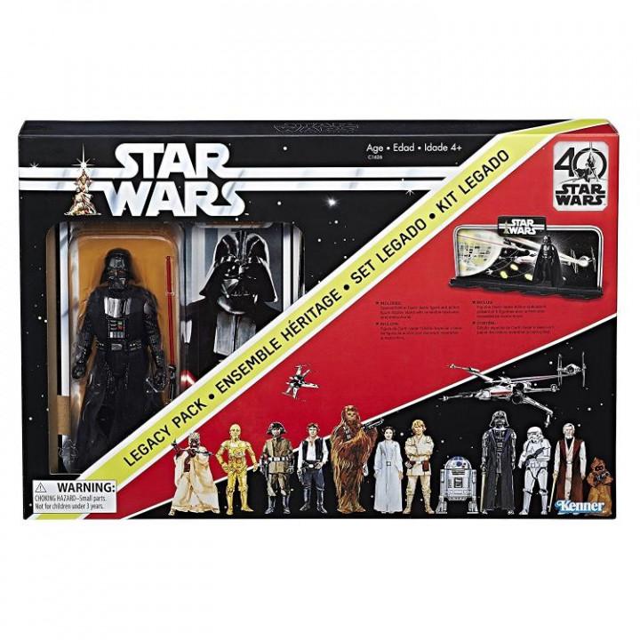 Star Wars 40th Anniversary The Black Series Darth Vader Legacy Pack