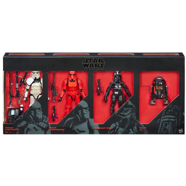 Эксклюзивный набор Имперских Сил состоящий из четырех шестидюймовых фигурок