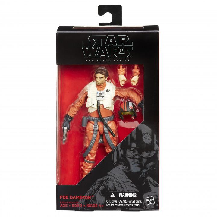 "Star Wars Black Series 6"" Poe Dameron  (#07)"