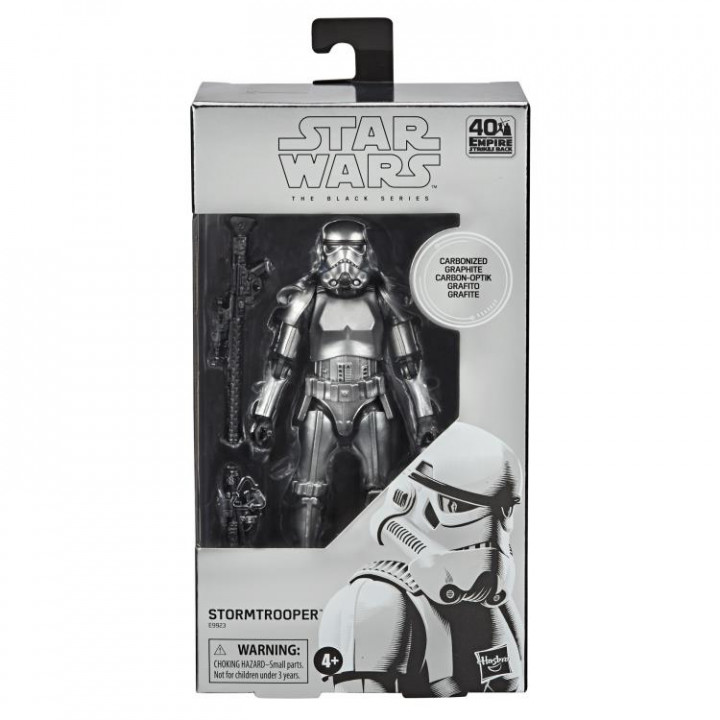 Star Wars Black Series Stormtrooper (Carbonized)