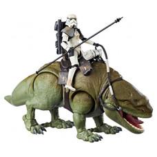 Star Wars The Black Series Dewback With Sandtrooper