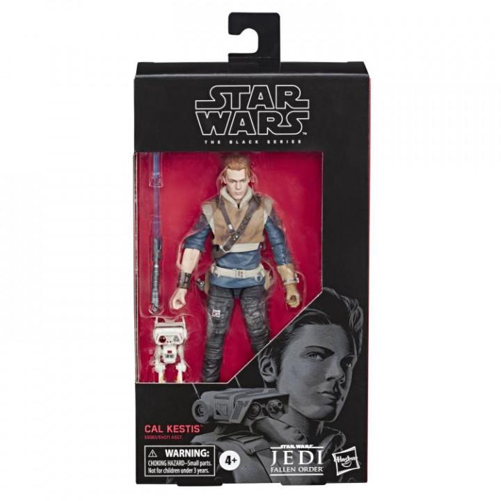 Фигурка Кэла Кастиса с дроидом BD-1 из игры Star Wars Jedi: Fallen Order