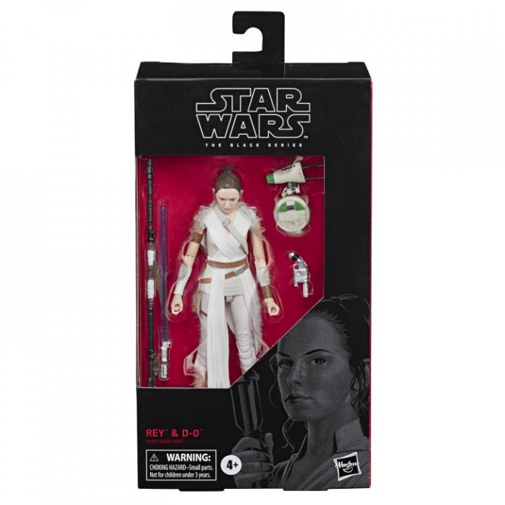 Star Wars Black Series Rey and D-0