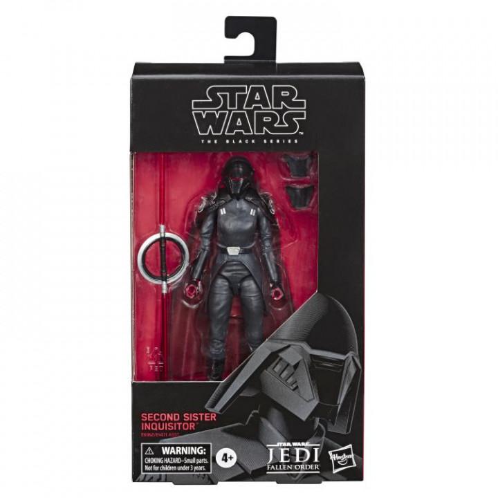 Фигурка Инквизитор Вторая Сестра из игры Star Wars Jedi: Fallen Order