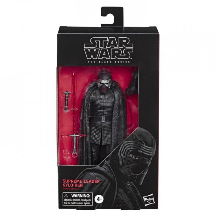 Star Wars Black Series Supreme Leader Kylo Ren (The Rise of Skywalker)