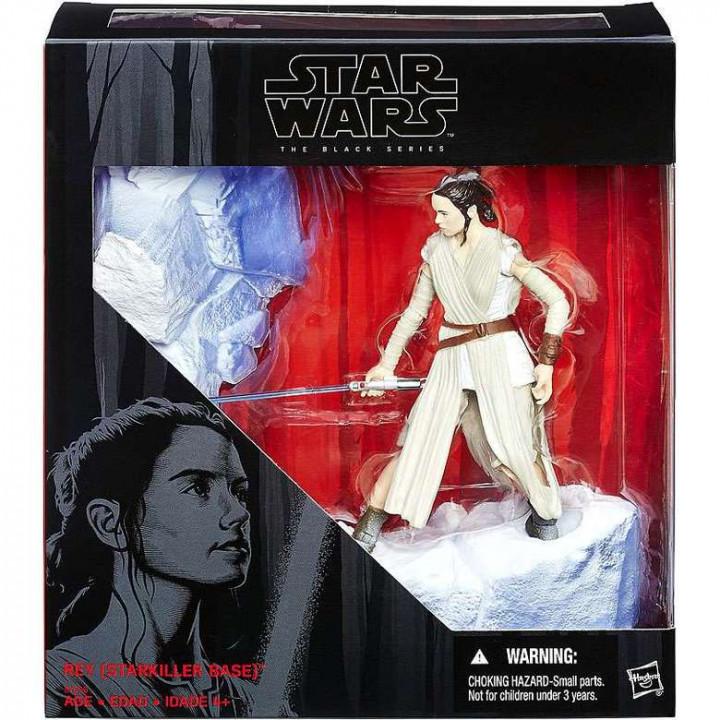Фигурка Рей на базе Старкиллер из фильма Star Wars: The Force Awakens
