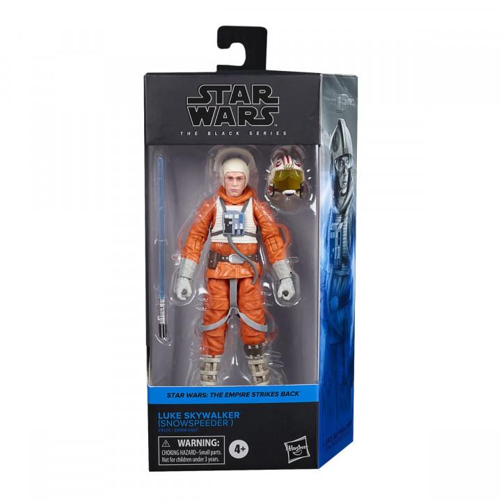 Star Wars The Black Series Luke Skywalker (Snowspeeder)