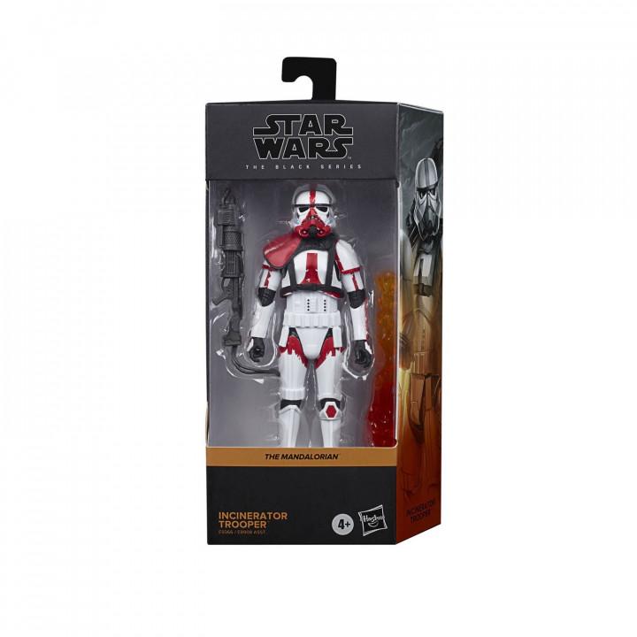 Star Wars Mandalorian Фигурка Штурмовик Огнеметчик