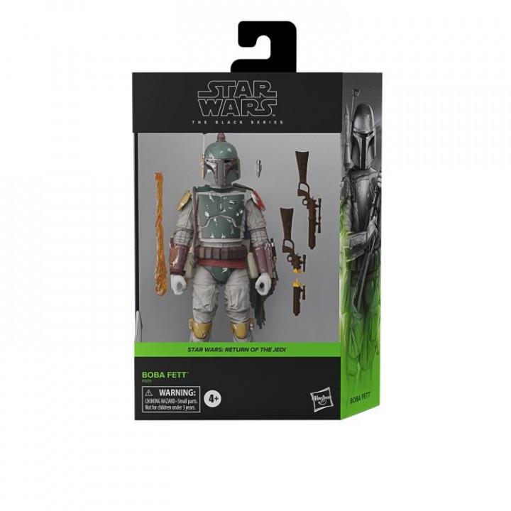 Star Wars Фигурка охотник за головами Боба Фетт (Deluxe)