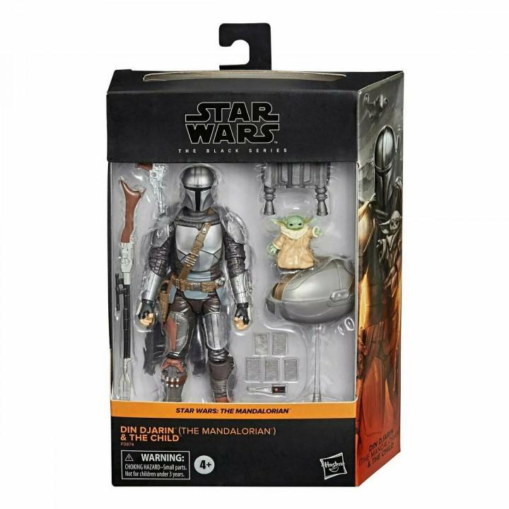 Star Wars Фигурка Дин Джарин (Мандалорец) и малыш Йода