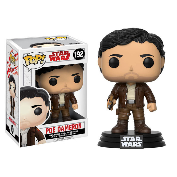 Funko POP! Star Wars Series: Star Wars The Last Jedi Poe Dameron (192)
