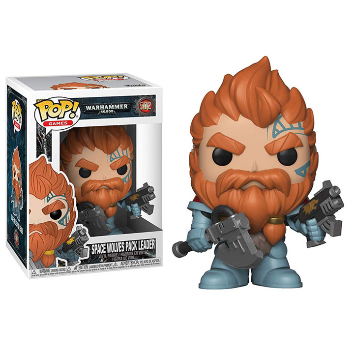 Funko Pop! Фигурка Space Wolves Pack Leader из игры Warhammer 40,000