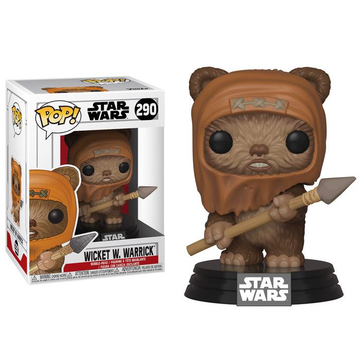 Pop! Star Wars: Return of the Jedi Wicket W. Warrick