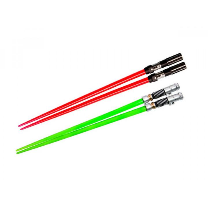 Набор из двух палочек для еды в виде световых мечей Дарта Вейдера и Люка Скайвокера