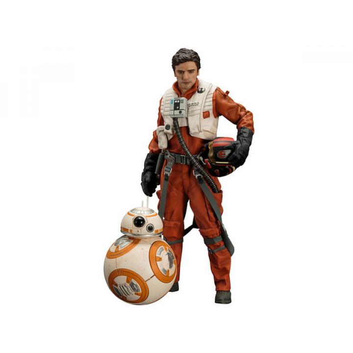 Фигурки пилота По Дамерона с дроидом BB-8 из фильма Звездные войны: Пробуждение силы
