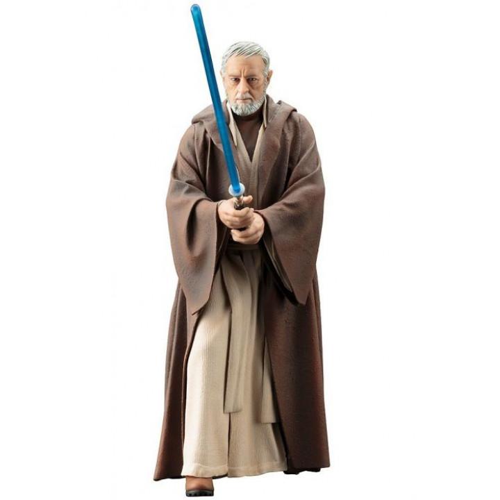 Фигурка Звездные войны - Оби-Ван Кеноби - Kotobukiya 1/10 ArtFX+ Obi-Wan Kenobi