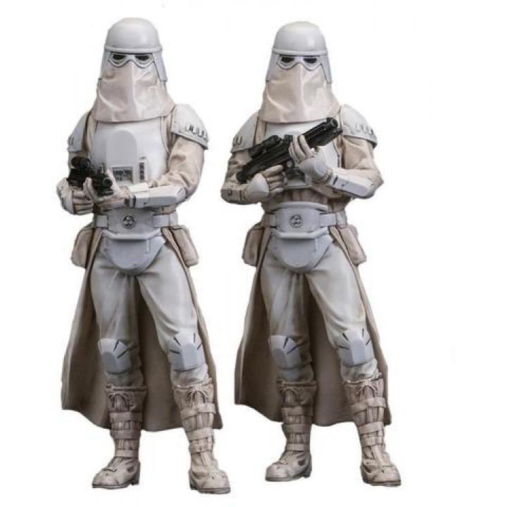 Набор из двух снежных штурмовиков из фильма Звездные войны: Империя наносит ответный удар